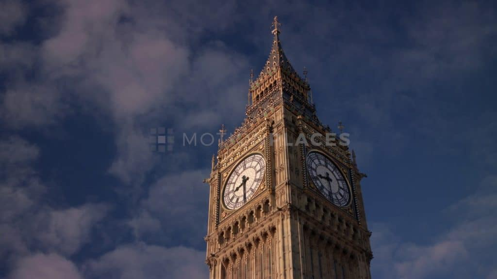 London Big Ben Stock Footage