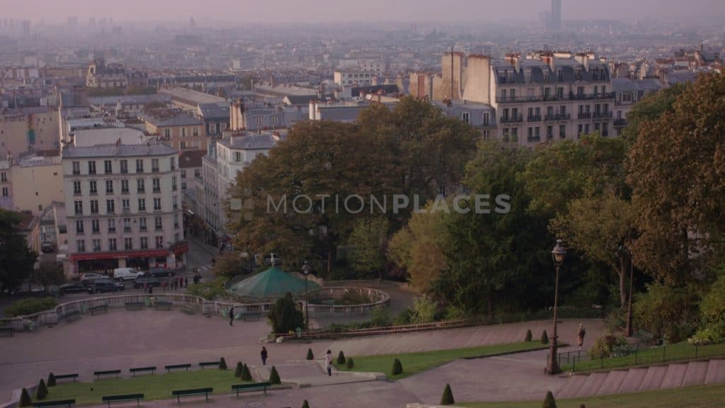Montmartre Park Sunrise Free Stock Video Footage. Download our free HD video footage, or purchase high quality 4K clips. Royalty Free licensing.