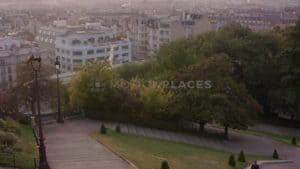 Montmartre Stairs Sunrise Free Stock Footage. Download our free HD video footage, or purchase high quality 4K clips. Royalty Free licensing.