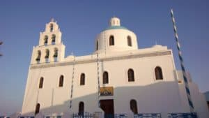 Santorini Church Free Stock Video. Download our free HD video footage, or purchase high quality 4K clips. Royalty Free licensing.