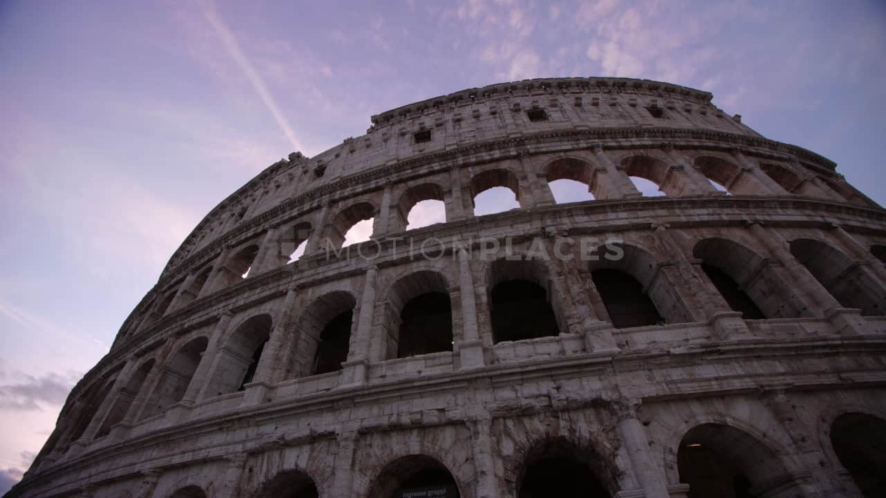 Rome Colosseum Sunrise Free Stock Video Footage. Download our free HD video footage, or purchase high quality 4K clips. Royalty Free licensing.