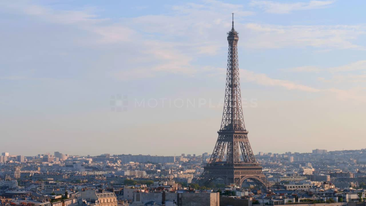 Paris Eiffel Tower Free Stock Footage by Motion Places. Download our free HD video footage, or purchase high quality 4K clips. Royalty Free licensing.