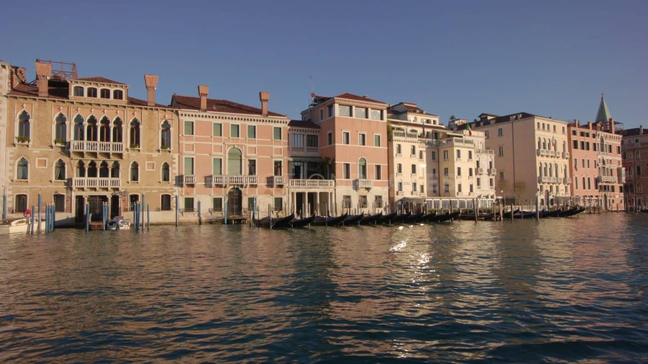 Venice Grand Canal Buildings Stock Footage by Motion Places. Download our free HD video footage, or purchase high quality 4K clips. Royalty Free licensing.