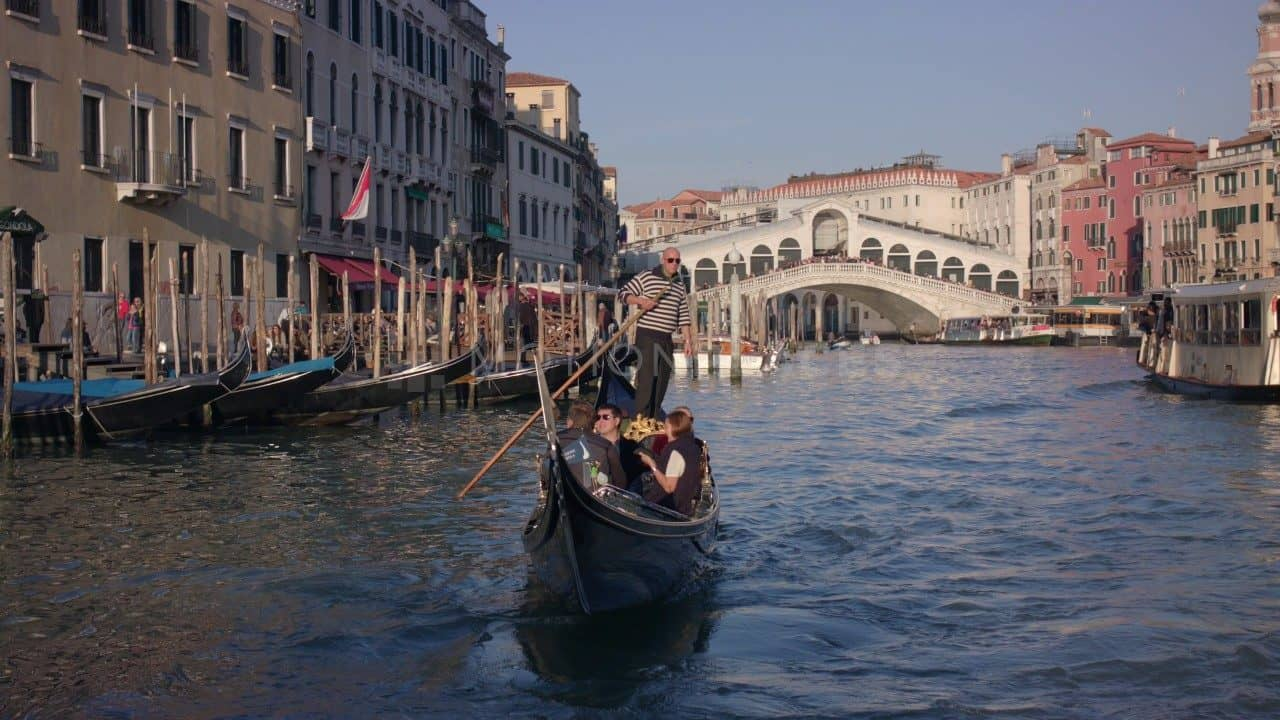 Venice Rialto Gondola Free Stock Footage by Motion Places. Download our free HD video footage, or purchase high quality 4K clips. Royalty Free licensing.
