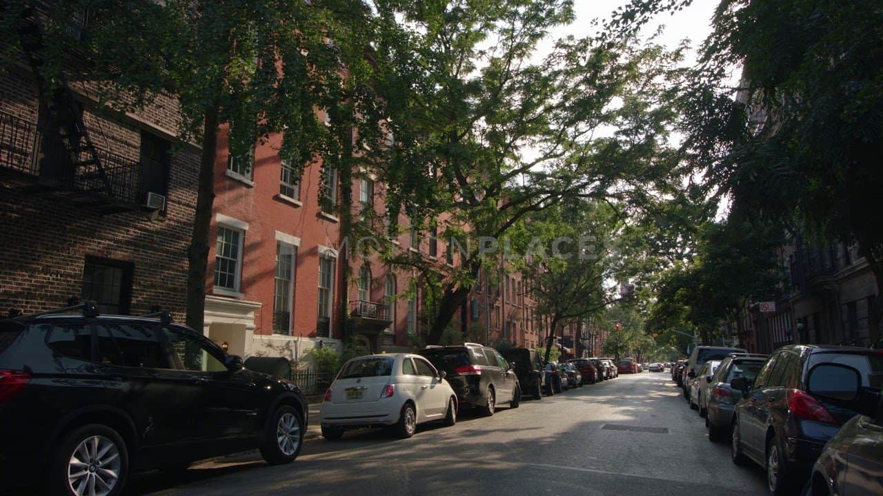 NYC Greenwich Village Street Stock Footage