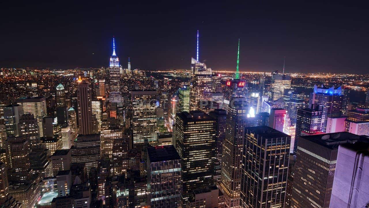 NYC Skyline Night Timelapse Stock Footage by Motion Places. Download our free HD video footage, or purchase high quality 4K clips. Royalty Free licensing.