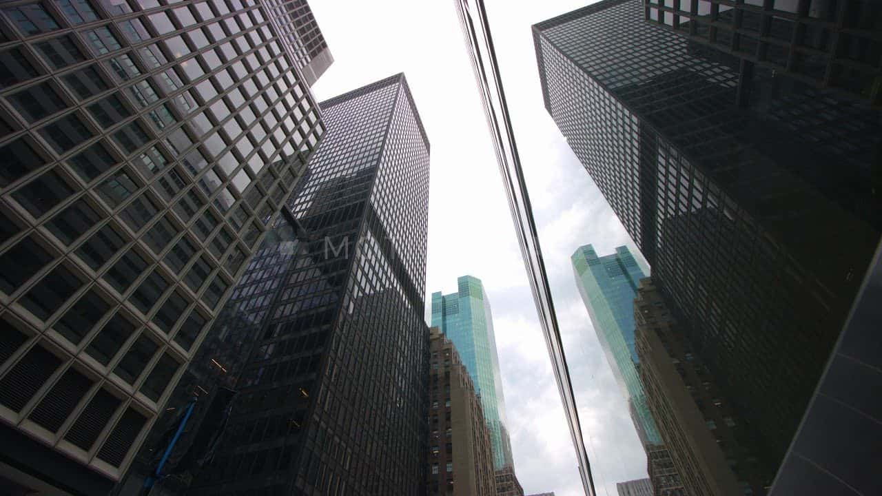 NYC Skyscraper Reflection Stock Footage by Motion Places. Download our free HD video footage, or purchase high quality 4K clips. Royalty Free licensing.