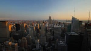 NYC Sunset Skyline Stock Footage by Motion Places. Download our free HD video footage, or purchase high quality 4K clips. Royalty Free licensing.