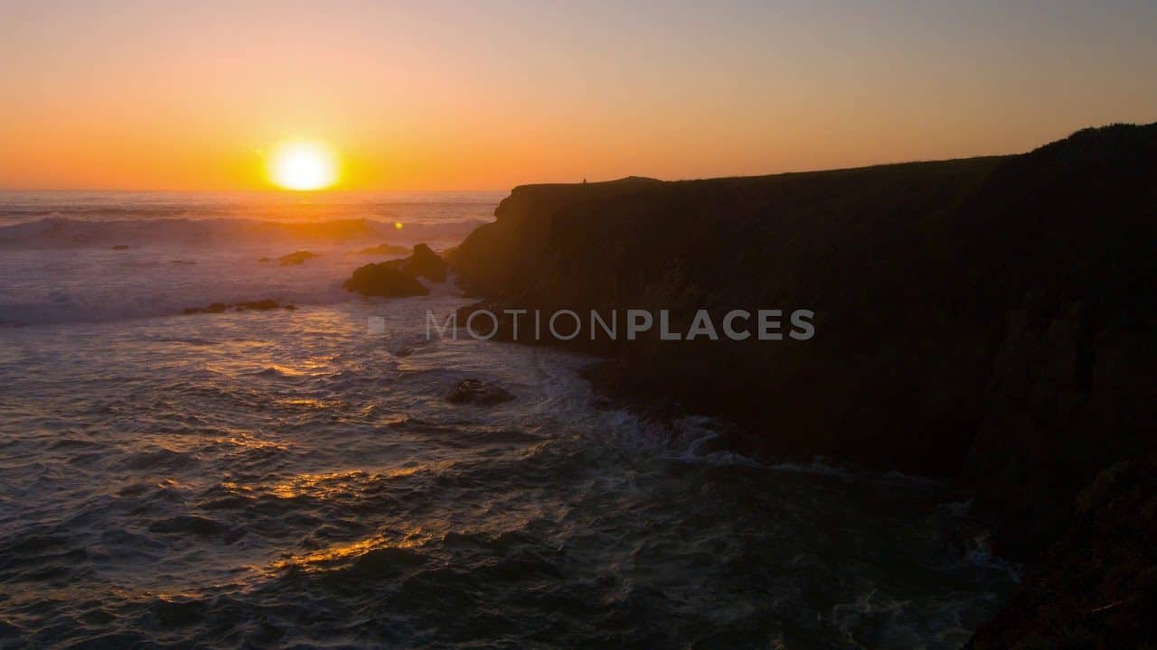 California Mendocino Coast Sunset Stock Footage. Download our free HD video footage, or purchase high quality 4K clips. Royalty Free licensing.