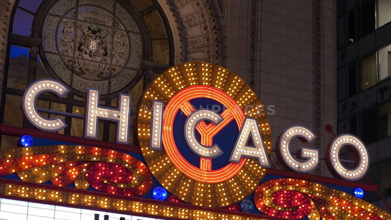 Chicago Theatre Marquee Free Stock Footage by Motion Places. Download our free HD video footage, or purchase high quality 4K clips. Royalty Free licensing.