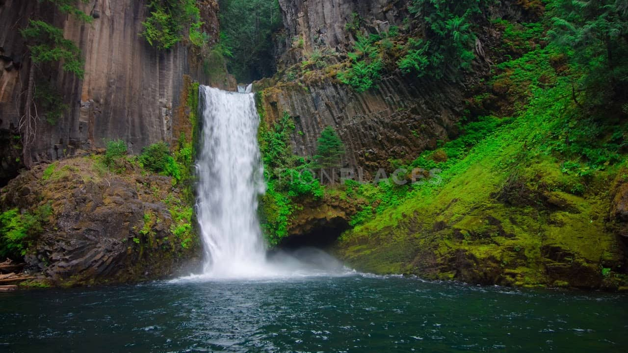 Oregon Waterfall Stock Footage by Motion Places. Download our free HD video footage, or purchase high quality 4K clips. Royalty Free licensing.