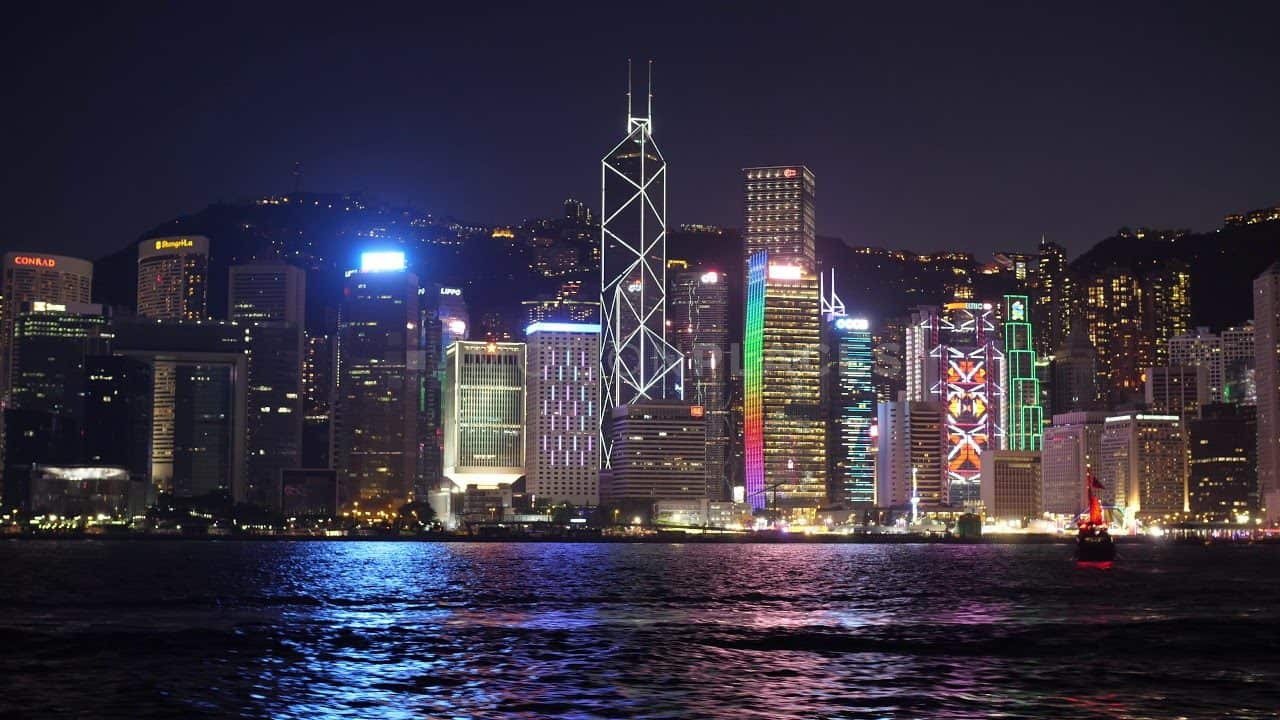 Hong Kong Night Skyline Free Stock Footage by Motion Places. Download our free HD video footage, or purchase high quality 4K clips. Royalty Free licensing.