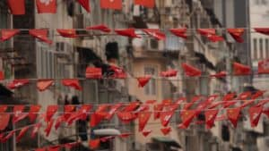 Hong Kong Red Flag Banner Stock Footage by Motion Places. Download our free HD video footage, or purchase high quality 4K clips. Royalty Free licensing.