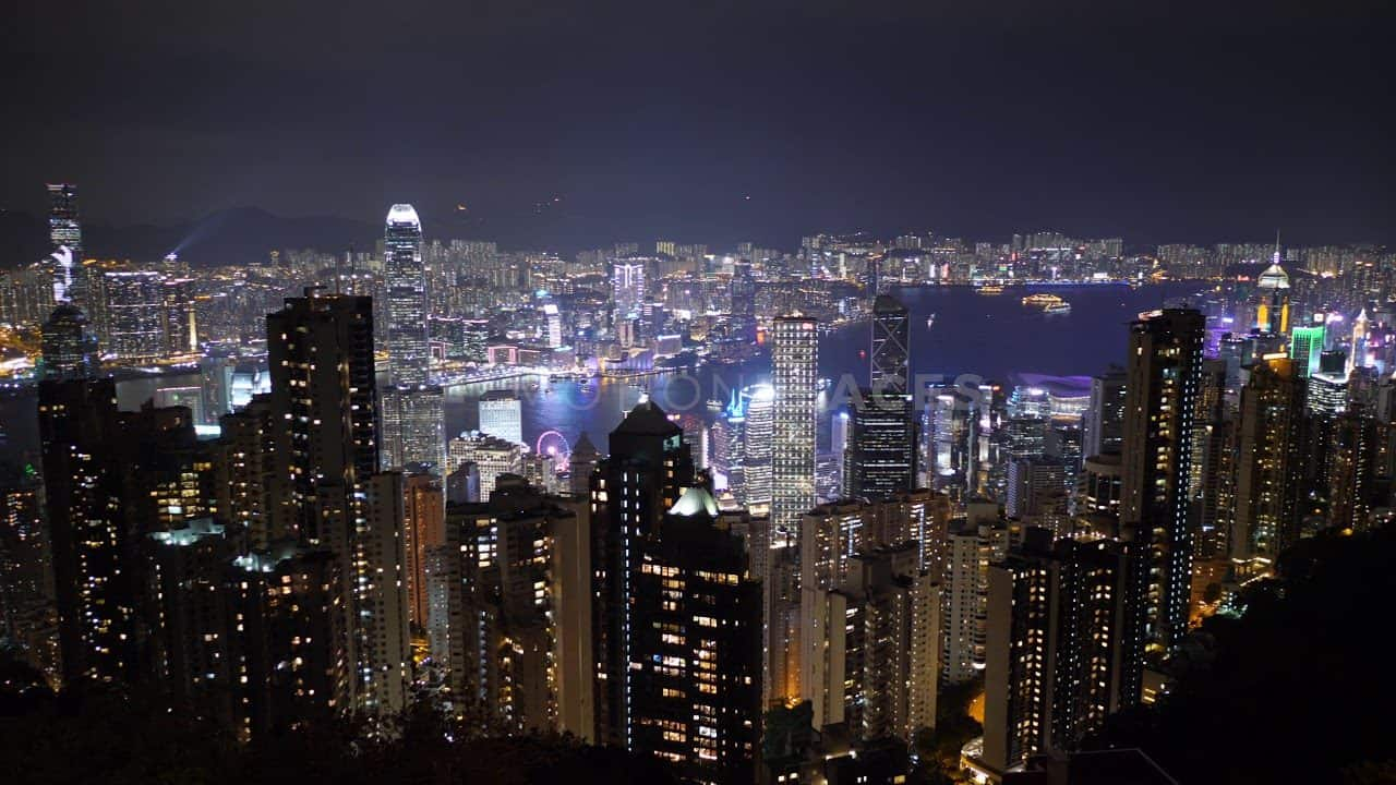 Hong Kong Symphony of Lights Cityscape Stock Footage by Motion Places. Download our free HD video footage, or purchase high quality 4K clips. Royalty Free licensing.