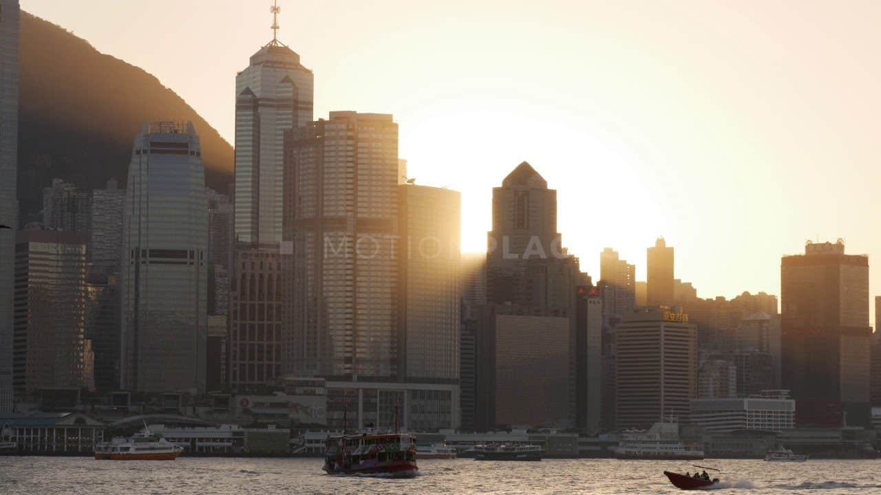 Hong Kong Sunset Skyline Free Stock Footage by Motion Places. Download our free HD video footage, or purchase high quality 4K clips. Royalty Free licensing.
