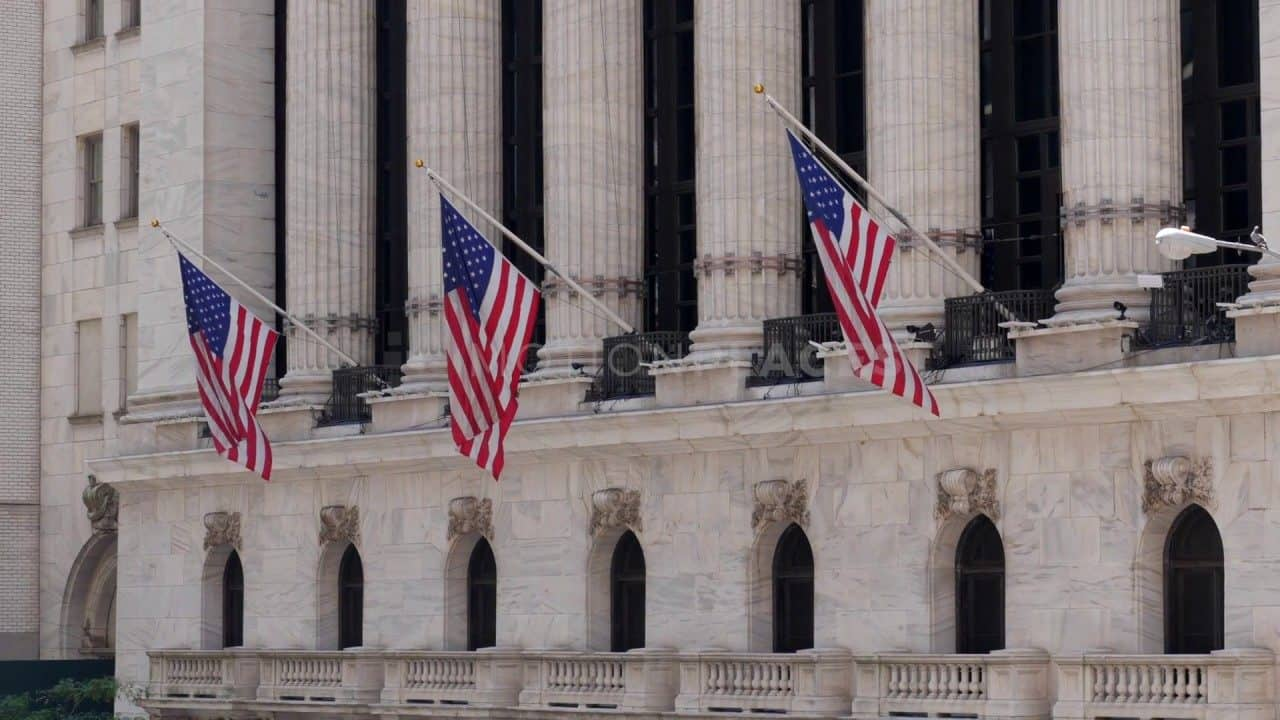 New York Stock Exchange Flags Free Stock Footage by Motion Places. Download our free HD video footage, or purchase high quality 4K clips. Royalty Free licensing.