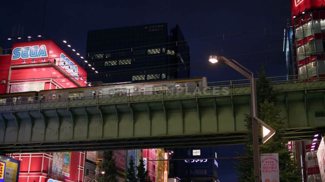 Tokyo Akihabara Train Free Stock Footage by Motion Places. Download our free HD video footage, or purchase high quality 4K clips. Royalty Free licensing.