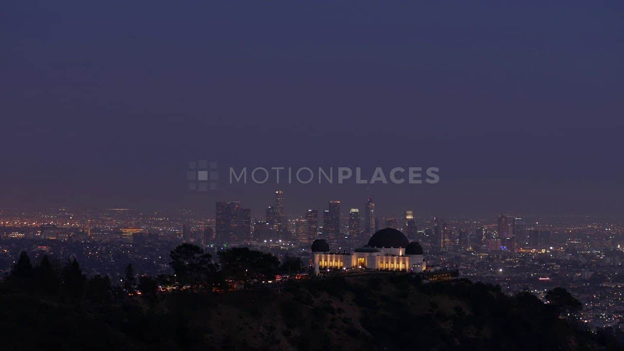 Griffith Observatory Night Free Stock Footage by Motion Places. Download our free HD video footage, or purchase high quality 4K clips. Royalty Free licensing.