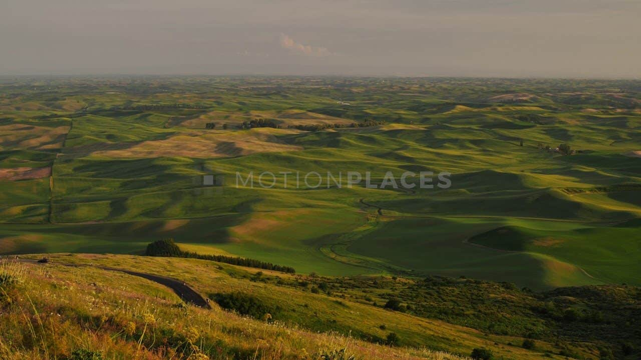 Palouse Golden Hour Rolling Hills Free Stock Footage by Motion Places. Download our free HD video footage, or purchase high quality 4K clips. Royalty Free licensing.