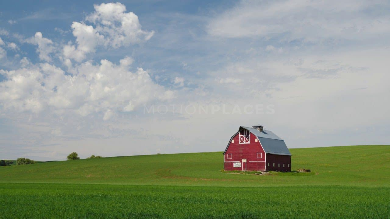 Red Barn Free Stock Footage