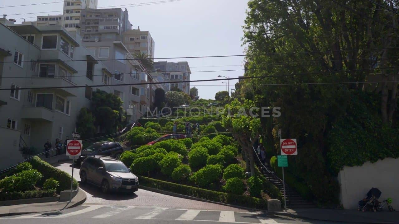 San Francisco Lombard Street Free Stock Footage by Motion Places. Download our free HD video footage, or purchase high quality 4K clips. Royalty Free licensing.