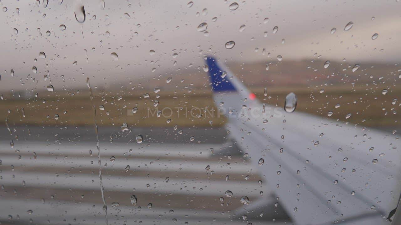 Airplane Window Rain Drops Free Stock Footage by Motion Places. Download our free HD video footage, or purchase high quality 4K clips. Royalty Free licensing.